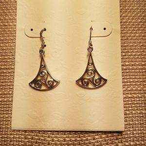Traditional Celtic Sterling Silver Earrings